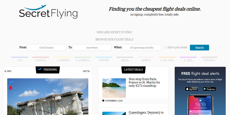 The Very Best Search Engine Website To Find Error Fares Cheap Flight Deals The Idea Shop
