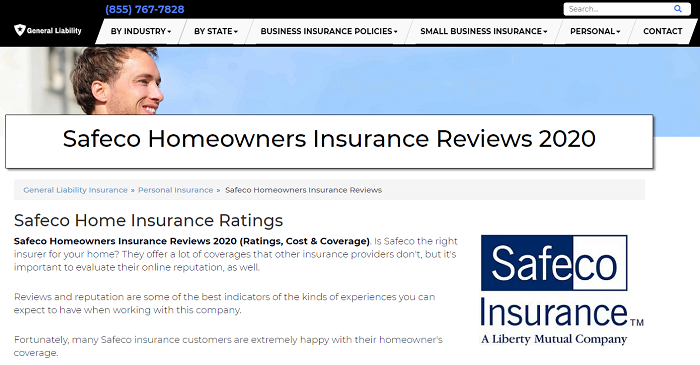 Safeco Homeowners Insurance Reviews
